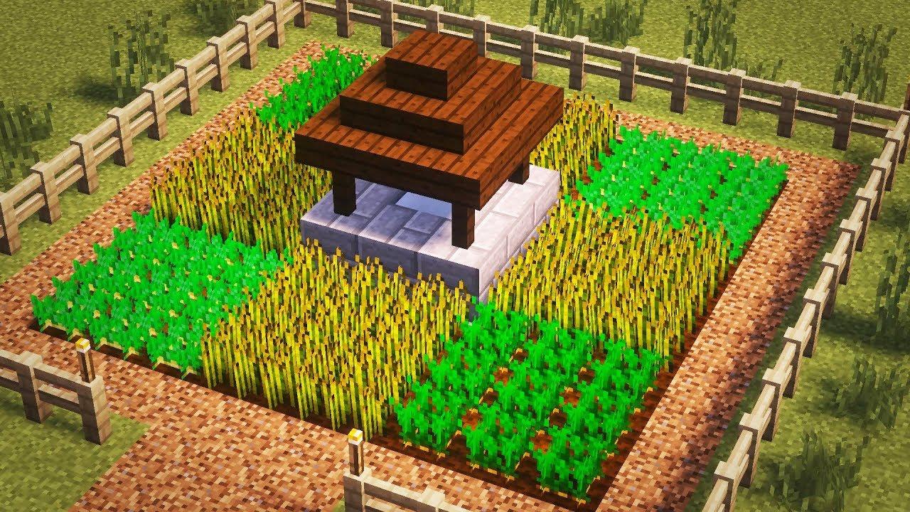 как в майнкрафте делать ферму #9