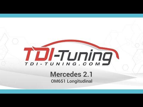 Mercedes 2.1L OM651 Longitudinal
