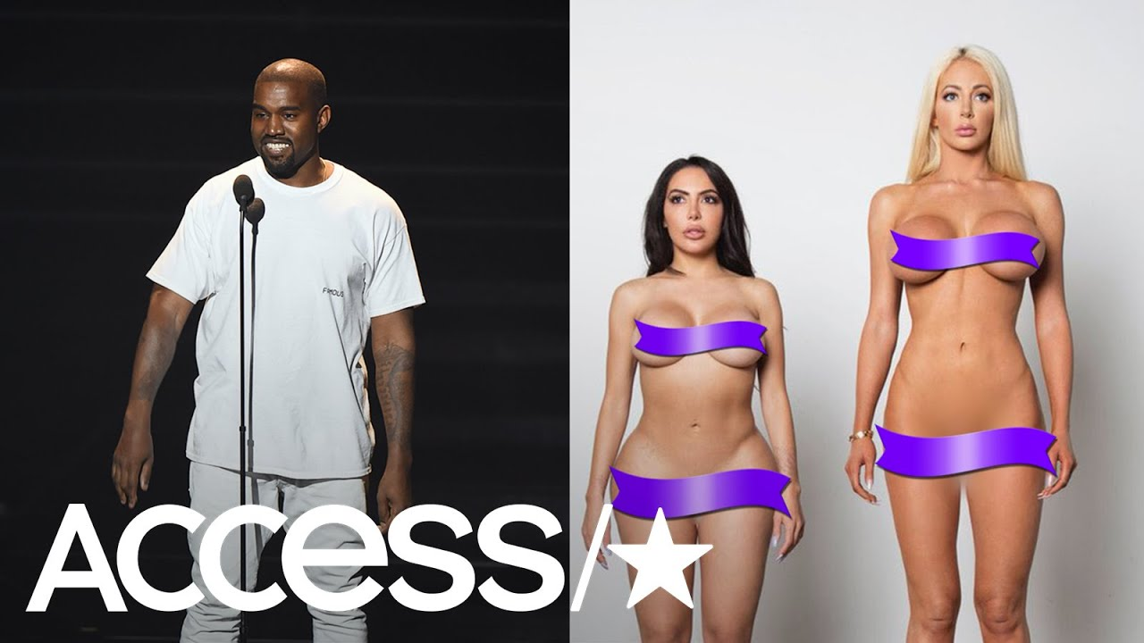 pretty nice 6267e 3f79a Kanye West Unveils New Yeezy Campaign With Nude Kim Kardashian Lookalike  Model! | Access
