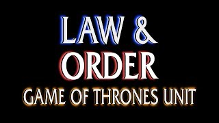 Tyron's Trial - Game of Thrones Law and Order Mashup