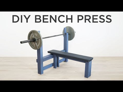 Diy Bench Press How To Make A Weight You
