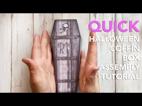 Halloween Coffin Treat Box Assembly | QUICK TEASER