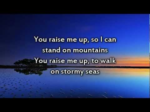 You Raise Me Up  Instrumental with lyrics