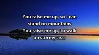 You Raise Me Up - Instrumental with lyrics