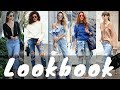 Latest Ripped Boyfriend Jeans Outfit Ideas for Spring 2018 | Spring Fashion Lookbook