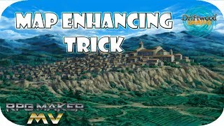 RPG Maker MV Tutorial - Easy trick to make your maps better - RPGMMV