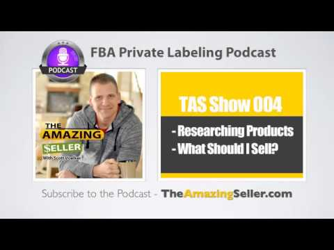 How To Research And Choose Products That Will Sell On Amazon – Step by Step - TAS Show Ep. 4
