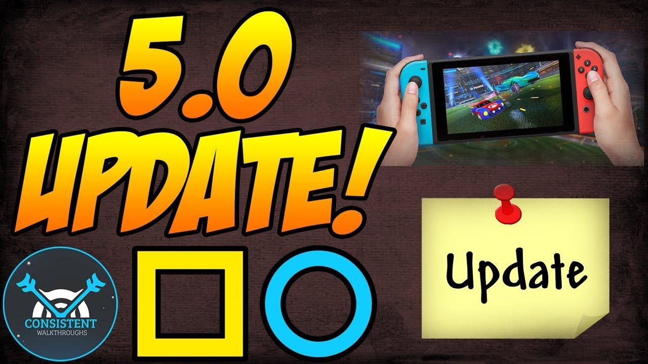 Nintendo Switch Update 5.0