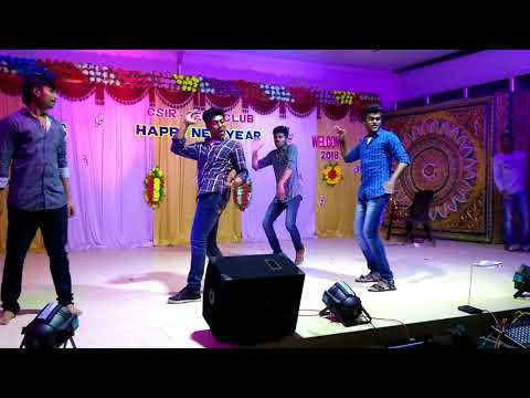 NEW YEAR 2018 ROCK Dance Performance by MIRMIDDONS at CECRI