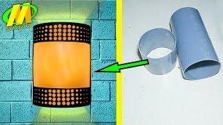 Bisnis rumahan modal kecil membuat lampu dinding dari pipa pvc