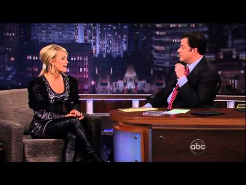 Carrie Underwood - Thigh Boots On Jimmy Kimmel
