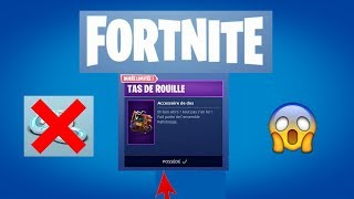 Fortnite Battle Royale - A free, limited-time back accessory !!! (Together Rafistolage)