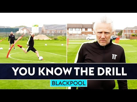 Jimmy Bullard is BACK for the first You Know The Drill of the season   Blackpool FC   W/Ryan Hardie