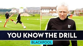 Jimmy Bullard is BACK for the first You Know The Drill of the season | Blackpool FC | W/Ryan Hardie