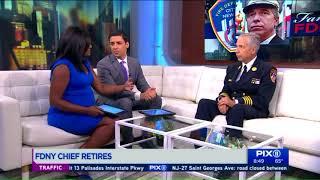 FDNY Chief Joseph Pfeifer talks legacy, retirement