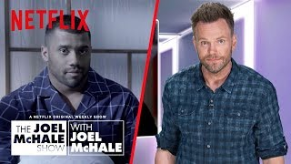 Quarterback Russell Wilson Reveals His Fitness Secret | Joel McHale Show | Netflix