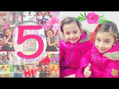 عيد ميلاد ليليان و جوان السيلاوي نجمتي طيور الجنة الخامس 12-12-2017 thumbnail
