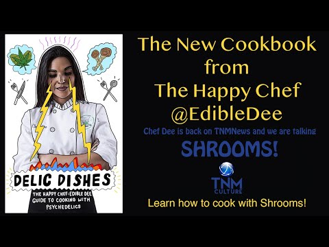 Chef Dee in the House AGAIN! This Time We Are Talking SHROOMS🧠🍄