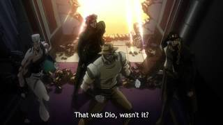 hd ジョジョ • jojo stardust crusaders dio reveals his stand for the first time