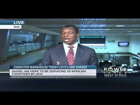 Computer Warehouse Group list on Nigerian Stock Exchange