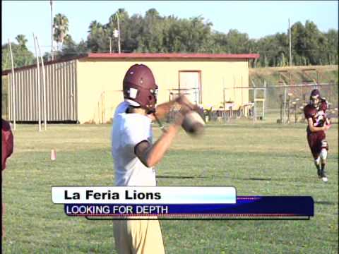 Hgn south looking for QB, La Feria Lions looking for depth