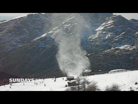 Strangest Weather On Earth:  Snownado!