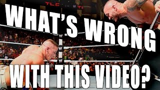 what s wrong with this john cena vs randy orton match
