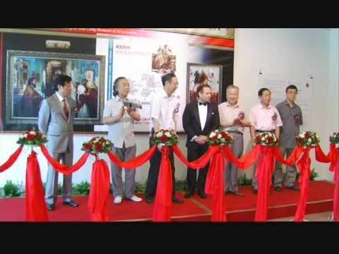 Andrey Kartashov. Solo show opening at Shanghai Wen Long Art Museum. 2010 (part 1)