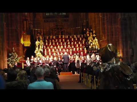 Hammond School Carol Concert 2016 @ Chester Cathedral - Gaudete