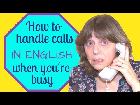 A funny telephone call with President Obama: Learn English with Simple English Videos