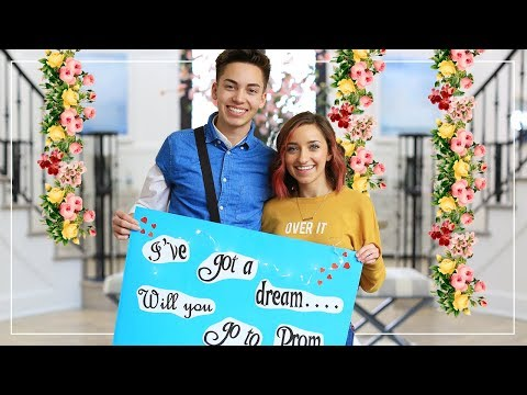ASA ASKS BAiLEY to PROM! | Brooklyn and Bailey