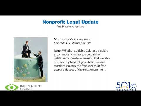 2018 Nonprofit Legal & Policy Trends Update