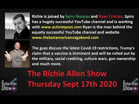 The Richie Allen Show - Thursday September 17th 2020