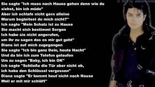 Michael Jackson - Dirty Diana (Deutsche Übersetzung)