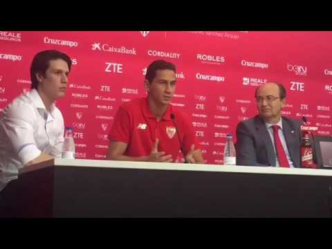 Ganso, presentado como nuevo jugador del Sevilla