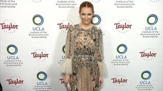 Darby Stanchfield 2018 UCLA IoES Gala Blue Carpet