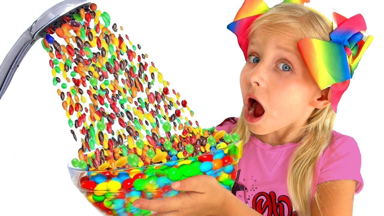 Алиса и веселые истории про волшебный душ и сладости