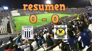 ALIANZA LIMA VS. COMERCIANTES UNIDOS 30/04/17 (RESUMEN)