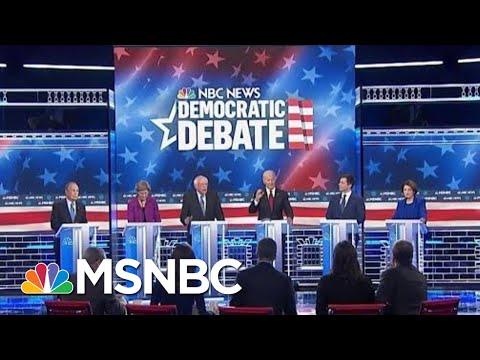 Circular Firing Squad Among The Democrats At Las Vegas Debate | Deadline | MSNBC