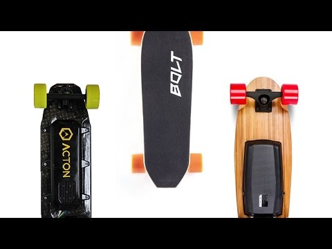 Small & Portable Electric Skateboards