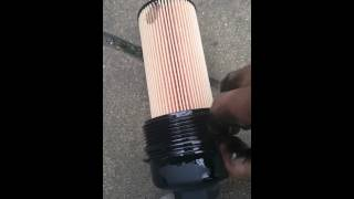 BMW E60 5 Series 520d Engine Oil and filter change