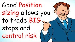 Lot sizing & position sizing Forex trading skills essential to control forex risk & encourage gains.