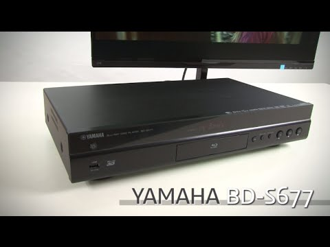 yamaha bd s677 wirless 3d blu ray disc player review youtube. Black Bedroom Furniture Sets. Home Design Ideas