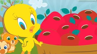 Twetty Bird - Cartoon Movie games - Looney tunes 2015 - Pluck a Worm