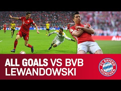 Robert Lewandowski - ALL goals vs Dortmund | FC Bayern Mp3