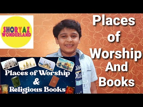 Places of Worship of Different Religions | Places of worship and religious books | videos for kids
