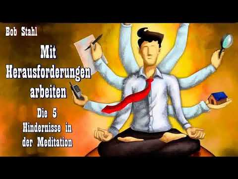 Mit Herausforderungen arbeiten - Die 5 Hindernisse in der Meditation - Bob Stahl ( Buddhismus )