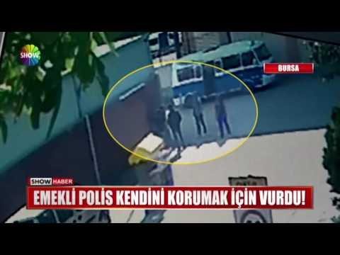Emekli Polis kendini korumak için vurdu!