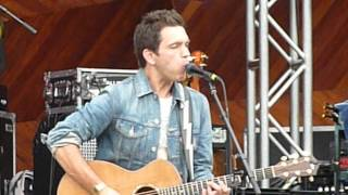 Andy Grammer - Chasing Cars @ MixFest Boston Sept. 8, 2012