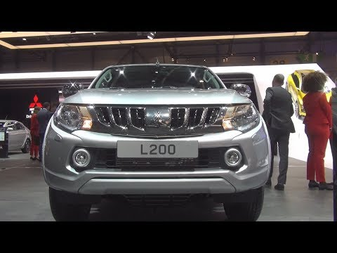 Mitsubishi L200 2.4 DID Double Cab (2017) Exterior And Interior In 3D